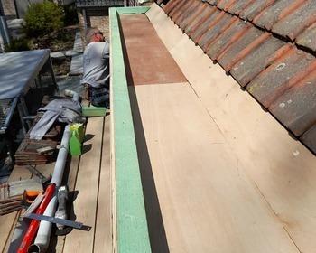 Renovatie van dakgoten